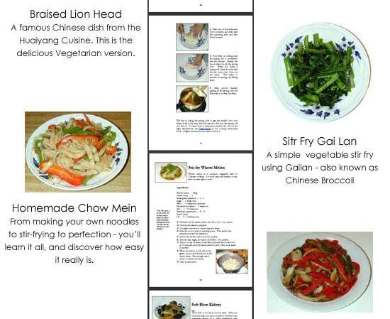International Asian vegetarian cookbook